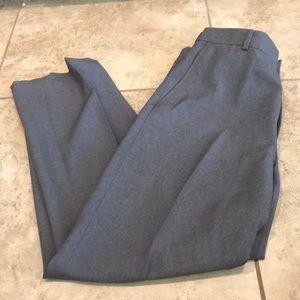 Men's gray dress pants David Taylor size 36x29